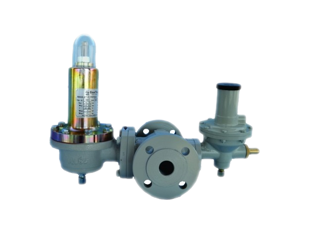 Регулятор давления газа тип 125-BV