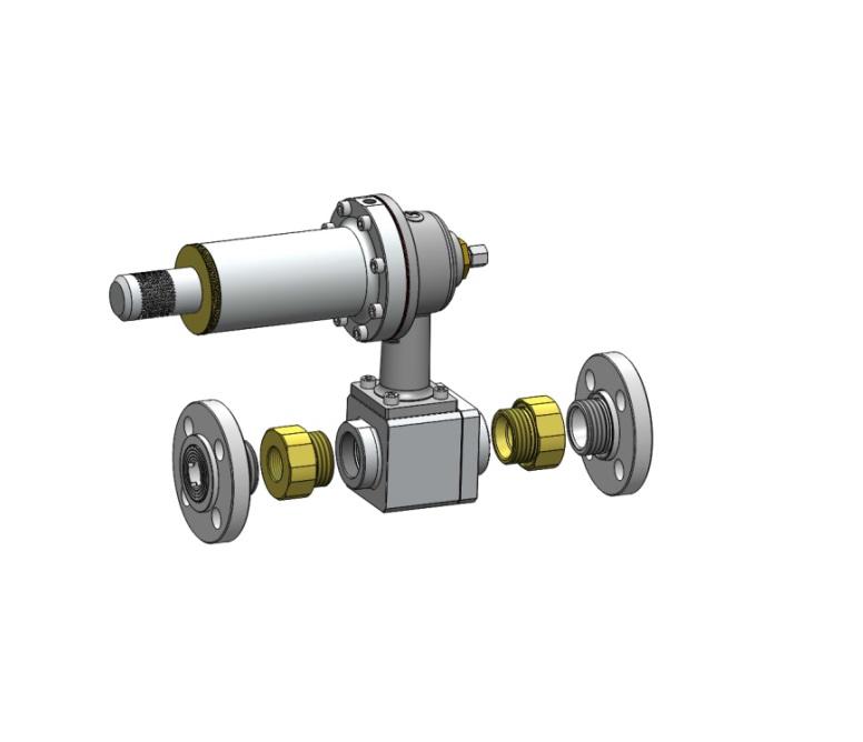 Регулятор давления газа тип 126-АХ