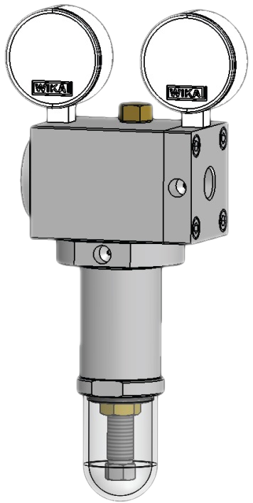 Регулятор давления газа тип 126-юнион