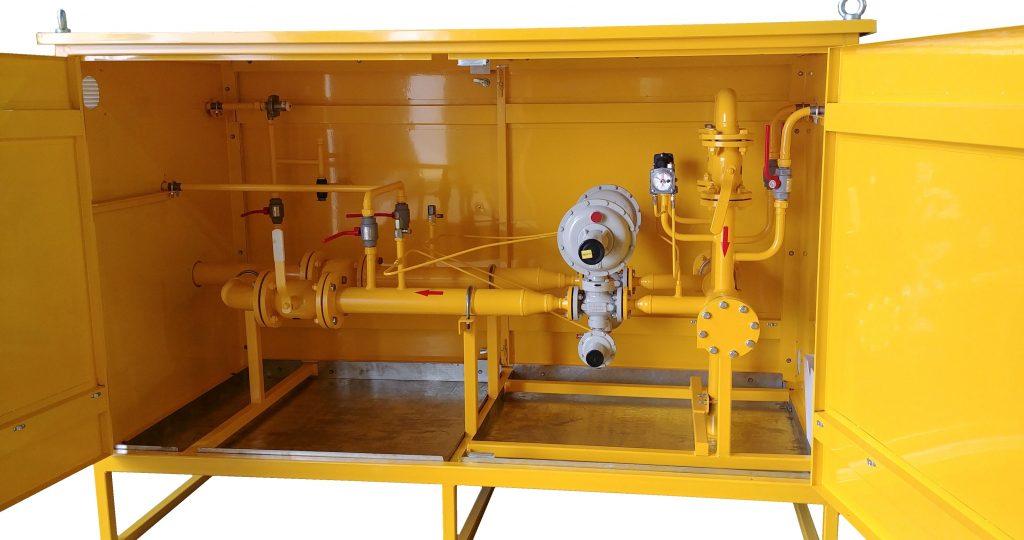 Газорегуляторный пункт шкафной(ГРПШ) исполнения ХЛ1