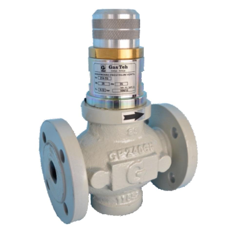 Предохранительный перепускной клапан 214-TG